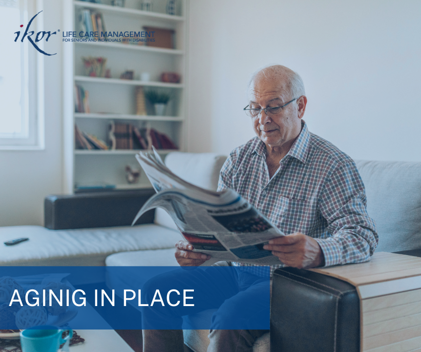 aging in place with a plan